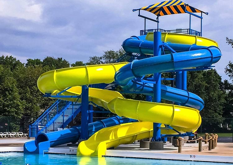 Water Slide Maintenance